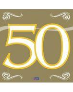 Servetten 50 Goud