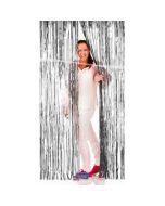 Deurgordijn Folie Zilver 2x1 Meter