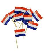 Prikkertjes Nederlandse vlag 50 st