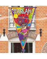 Mega vlag 90 x 150 Sarah