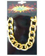 Pooier armband goud grof model