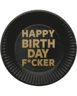 Borden Happy Birthday F*cker 8 stuks
