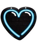 NEON Hart Blauw