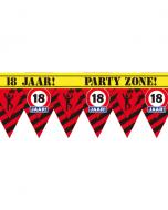 18 Jaar Party tape 12 meter