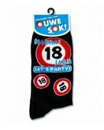 """18 Jaar Let""""s Party ! Sokken"""