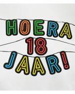 18 Jaar Hoera - NEON Slinger