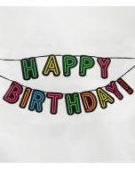 NEON slinger - Happy birthday