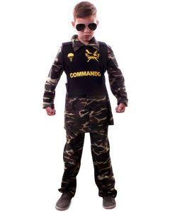Commando camouflage kids ( Maat 140 )