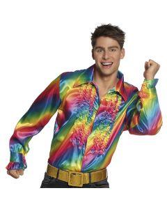 Regenboog Party Blouse