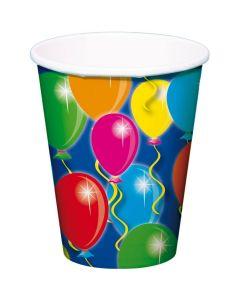 Bekers Balloons - 8 Stuks