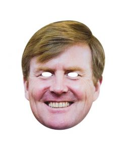 Masker Koning Willem Karton