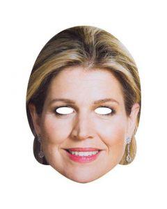 Masker Koningin Maxima Karton