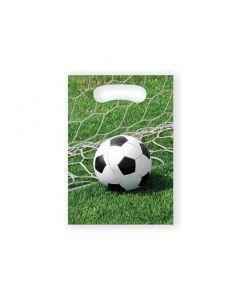 Uitdeelzakjes Voetbal - 8Stuks