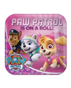 Bordjes Paw Patrol Roze - 8 Stuks