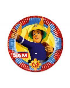 Brandweerman Sam Borden 23 cm 8 stuks