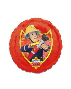 Folieballon Brandweerman Sam Rood - 43CM