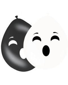 Ballonnen Halloween Spook - 8Stuks