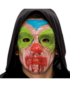 Masker Horror clown transparant