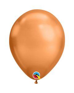Chroom Ballonnen Koper 11 Inch - 5 Stuks