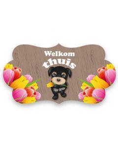 'Welkom Thuis' Feestbord
