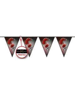 Vlaggenlijn Bloody Halloween - 10Mtr