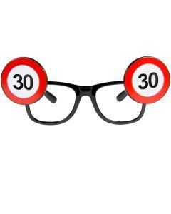 30 Jaar Verkeersbord Bril