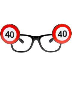 40 Jaar Verkeersbord Bril