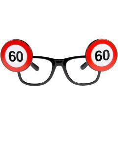 60 Jaar Verkeersbord Bril