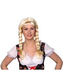 Pruik Heidi Licht Blond