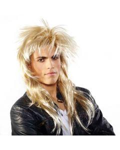 Pruik Johnny Rocker Blond