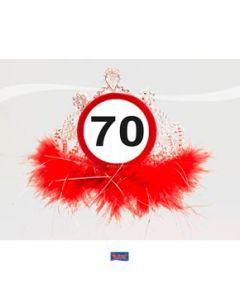 Tiara Verkeersbord 70
