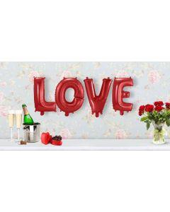 Romantische Folie Ballonnen Set LOVE