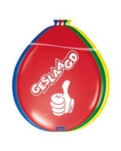 Ballon Geslaagd 12in / 30 cm per 8