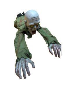 Kruipende Zombie Met Licht En Geluid