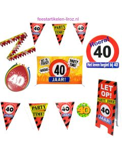 40 Jaar Feest Pakket L