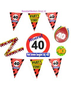 40 Jaar Feest Pakket M