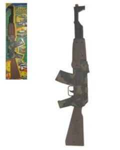 Maschine geweer AK 47 + Geluid