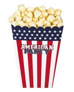 4 Popcorn bowls USA
