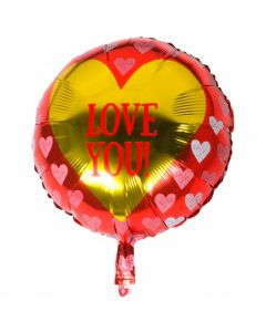 Folieballon - Love You