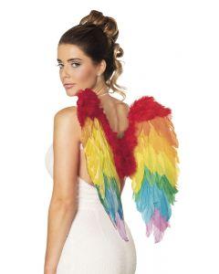 Regenboog Engelenvleugels 50 X 50 cm