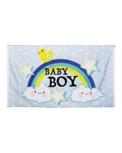 Vlag Baby Boy 90X150cm