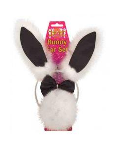 Sexy Bunny Set Zwart