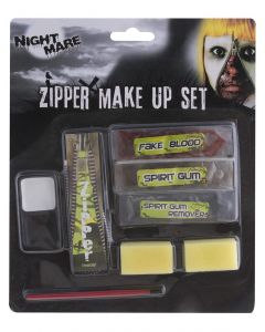 Grimas Halloween Make-up Set Rits 8-Delig