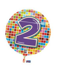 Folie ballon 2 jaar (helium)