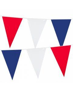 Vlaggenlijn Rood Wit Blauw - 10M