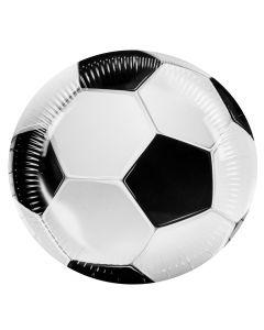 Voetbal Borden 6 stuks