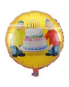 Folieballon Buurman en Buurman  45 cm