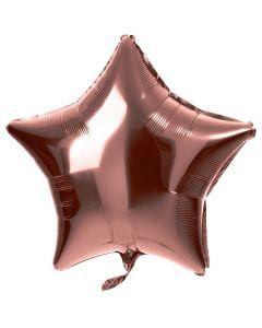 Folieballon Ster Brons - 48CM
