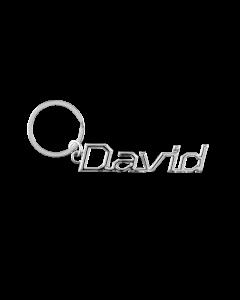 Sleutelhanger Naam - David