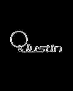 Sleutelhanger Naam - Justin